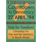 po132. Countdown to Democracy 27 April '94