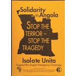 po133. Solidarity with Angola Isolate Unita