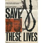 po144. 'Save These Lives' poster