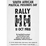 po151. South African Political Prisoners Day, 1988