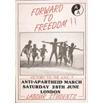 po156. 'Forward to Freedom', 1986
