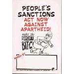po160. 'People's Sanctions: Act Now Against Apartheid'