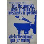 po176. Durham University Disinvestment Campaign 4