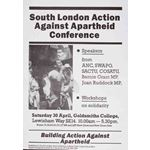 po180. Action against Apartheid conference, South London