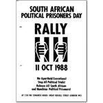 pri36. South African Political Prisoners Day, 1988