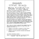 pri39. Remember Steve Biko