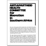 pro01. Anti-Apartheid Health Committee