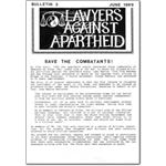 pro17. Lawyers Against Apartheid Bulletin 3