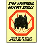 she01. Stop Apartheid Boycott Shell