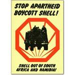 she01. Stop Apartheid Boycott Shell