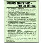 spo05. 'Springboks Sports Tours - Why All the Fuss?'