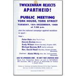 spo07. 'Twickenham Rejects Apartheid!'
