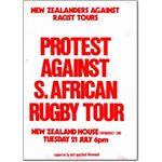spo14. New Zealand rugby protest