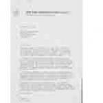 spo31. Letter to MCC President Sir Alec Douglas-Home