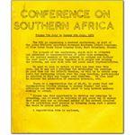 stu01. NUS/AAM conference leaflet, 1972