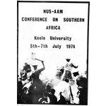 stu28. NUS/AAM conference report, 1974