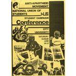 stu38. NUS/AAM conference agenda, 1982