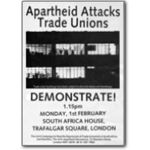 tu32. 'Apartheid Attacks Trade Unions'