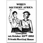 wom17. 'Women and Southern Africa' conference