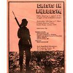 zim18. 'Crisis in Rhodesia' public meeting