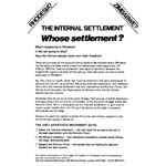 zim23. The Internal Settlement