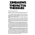 zim27. 'Zimbabwe The Facts & The Issues'